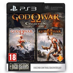 God of War Collection - PS3 - Mídia Digital