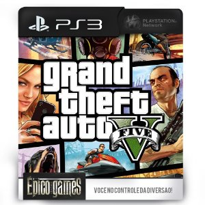 Grand Theft Auto V - GTA 5 - PS3 - Midia Digital