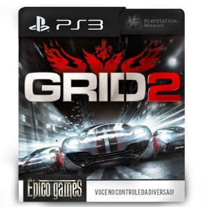 GRID 2 - PS3 - Midia Digital