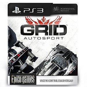 GRID Autosport - PS3 - Midia Digital