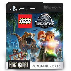 LEGO Jurassic World - PS3 - Midia Digital