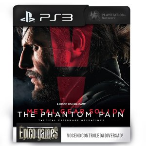 Metal Gear Solid V - The Phantom Pain - PS3 - Midia Digital