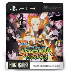 Naruto Shippuden Ultimate Ninja Storm Revolution - PS3 - Midia Digital