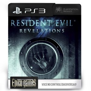 Resident Evil Revelations - PS3 - Midia Digital