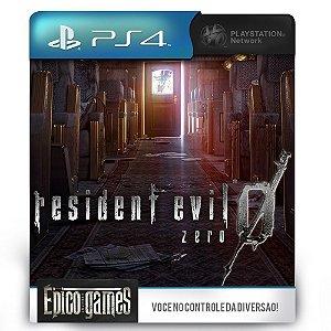 Resident Evil 0 - Zero - PS4 - Midia Digital