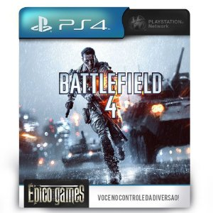 Battlefield 4 - PS4 - Midia Digital