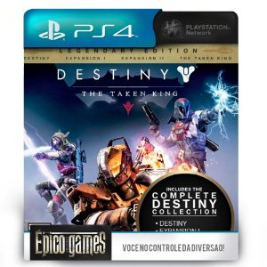 Destiny The Taken King - Legendary Edition - PS4 - Mídia Digital