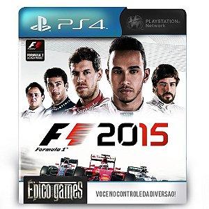 F1 2015 - Português - PS4 - Midia Digital
