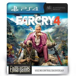 Far Cry 4 - PS4 - Midia Digital