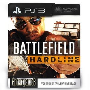Battlefield Hardline - PS3 - Midia Digital