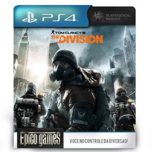Tom Clancy's The Division - PS4 - Midia Digital