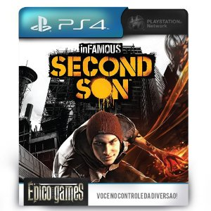 inFAMOUS Second Son - PS4 - Midia Digital