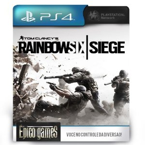 Tom Clancy's Rainbox Six Siege - PS4 - Midia Digital