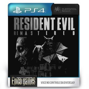 Resident Evil HD Remaster - PS4 - Midia Digital