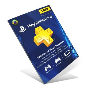Cartão PSN Plus Assinatura 12 Meses + R$ 70  (Total R$ 200) - BRASIL