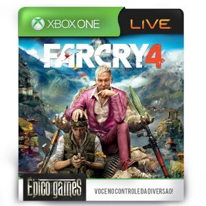 Far Cry 4 - Xbox One - Midia Digital