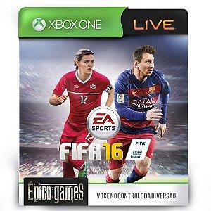 Fifa 16 - Xbox One - Midia Digital