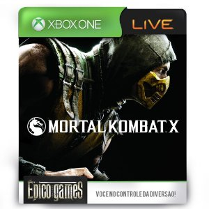 Mortal Kombat X - Xbox One - Midia Digital