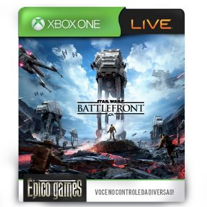 Star Wars Battlefront - Xbox One - Midia Digital