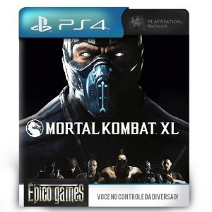 Mortal Kombat XL - PS4 - Midia Digital