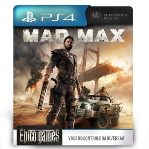 Mad Max - PS4 - Midia Digital
