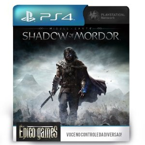 Middle Earth Shadow of Mordor - PS4 - Mídia Digital
