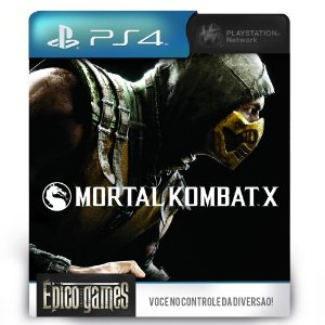 Mortal Kombat X - PS4 - Midia Digital