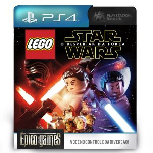 LEGO Star Wars The Force Awakens - PS4 - Mídia Digital