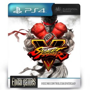 Street Fighter V - PS4 - Midia Digital
