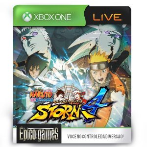 NARUTO SHIPPUDEN Ultimate Ninja STORM 4 - Xbox One - Midia Digital