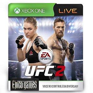 EA SPORTS UFC 2 - Xbox One - Midia Digital