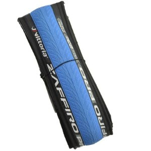 Pneu Vittoria 700x23 Zaffiro Pro Kevlar Preto com Azul