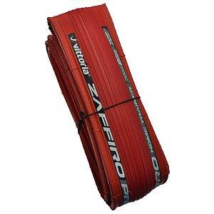 Pneu Vittoria 700x23 Zaffiro Pro Home Trainer Kevlar Vermelho