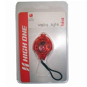 Luz de Segurança 1 Led Vermelho