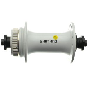 Cubo Dianteiro Shimano HB-RM66 Centerlock 32 Furos Branco