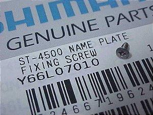 Parafuso da Placa do Visor STI Shimano ST-4500 - Y66L07010