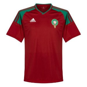 0116c389e Camisa Seleção do Marrocos Away 2018 2019-S Nº - Amo Futebol