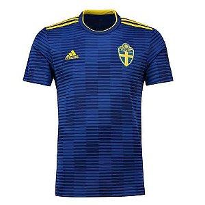 Camisa Seleção da Suécia Away 2018/2019-S/Nº