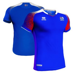 Camisa Seleção da Islândia Home 2018/2019-S/N°