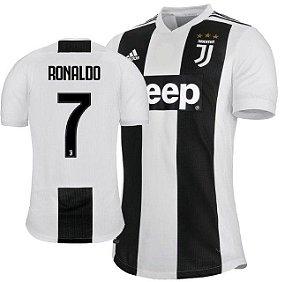 a6d235a3c kit Infantil Juventus Home 2018 2019-Cristiano Ronaldo Nº7 - Amo Futebol