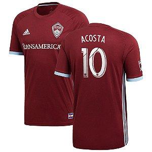 Camisa Colorado Rapids Home 2018/2019-Acosta#10