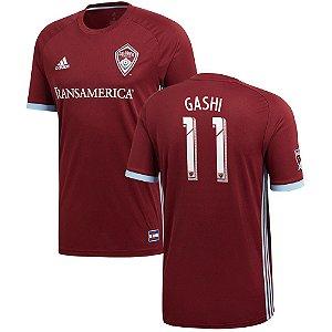 Camisa Colorado Rapids Home 2018/2019-Shkelzen Gashi#11