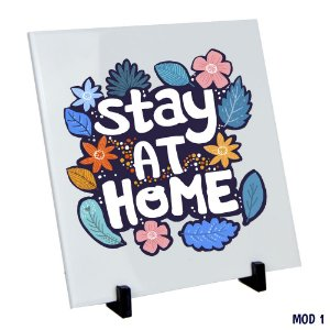 Azulejo Stay at home