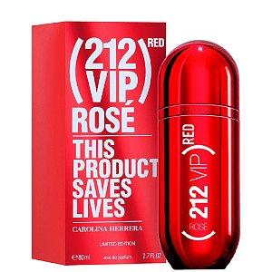 Perfume Feminino 212 Vip Rosé (RED) Eau de Parfum 80ml