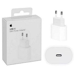 Fonte de Carregador Apple USB Tipo C Turbo 18W