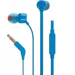 Fone de Ouvido JBL Tune 110 Azul