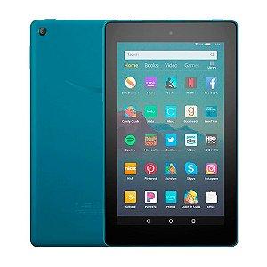 Tablet Fire HD 8 32GB com Assistente Virtual Azul