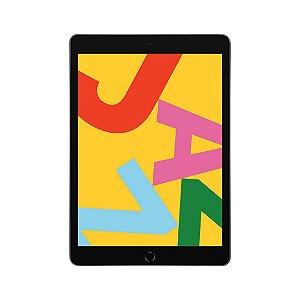 iPad (7ª geração) 32GB Wi-Fi Tela Retina 10,2'' Bluetooth Câmera de 8 MP Cinza Espacial - Apple