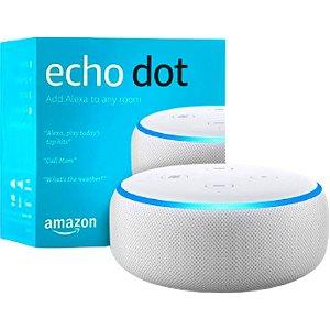 Amazon Echo Dot 3º Geração Alexa - Branca