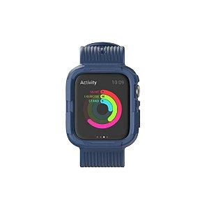 Pulseira para Apple Watch 42/44mm com Proteção - Azul